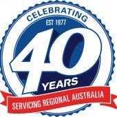 40 Year Logo