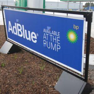 AdBlue sign
