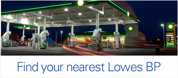 Find the nearest Lowes BP service station