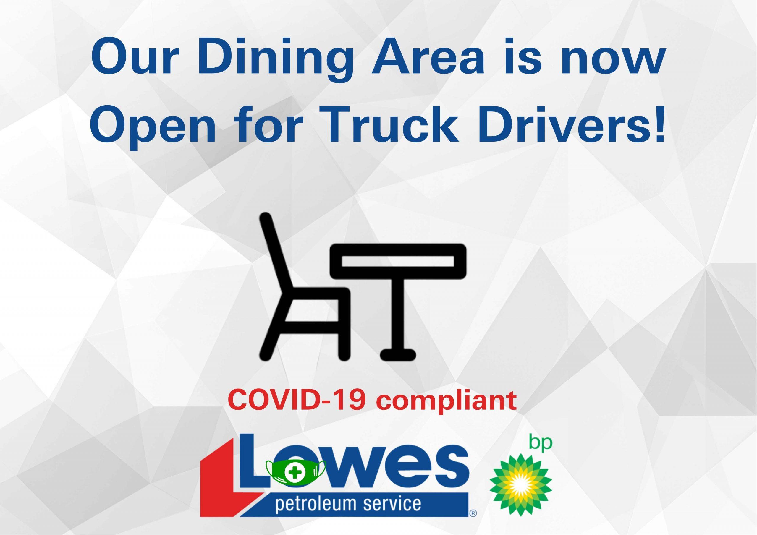 Bellata & Blackall Truckstop Dining COVID-19