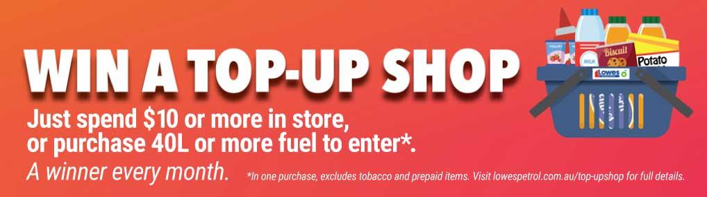 Win a Top-up Shop